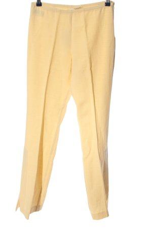 MNG Dzwony bladożółty W stylu casual