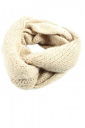 MNG Tube Scarf natural white casual look