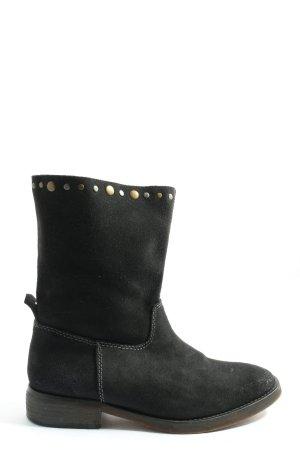 MNG Schlüpf-Stiefeletten schwarz Casual-Look