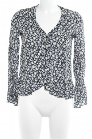 MNG Schlupf-Bluse Blumenmuster Casual-Look