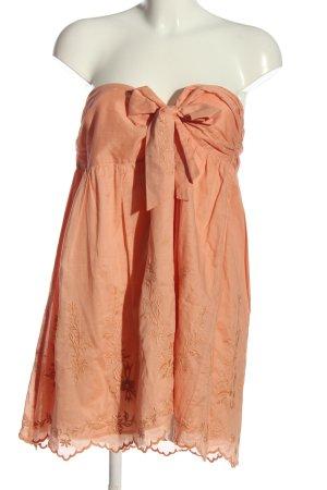 MNG Top bez ramiączek jasny pomarańczowy W stylu casual