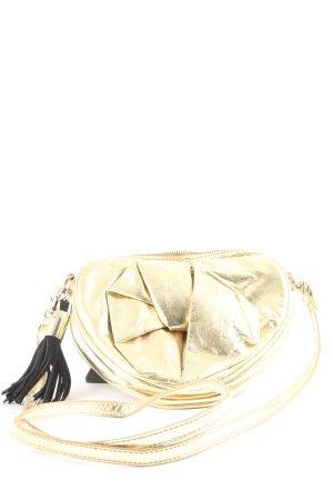 MNG Schultertasche goldfarben Elegant