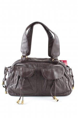 MNG Schultertasche braun Casual-Look