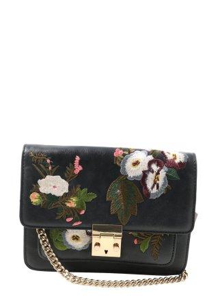 MNG Shoulder Bag flower pattern casual look