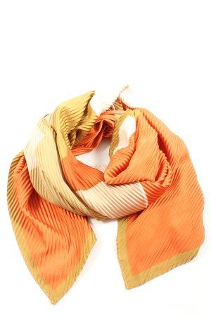 MNG Pañoleta naranja claro-color oro look casual