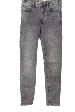 MNG Skinny Jeans hellgrau meliert Casual-Look