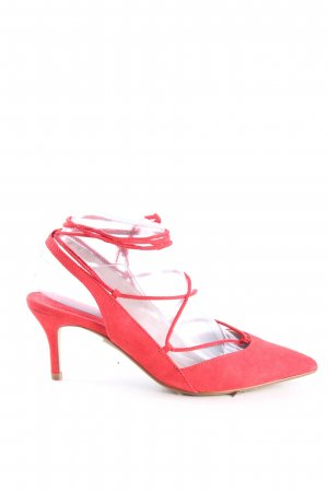 MNG Décolleté modello chanel rosso stile casual