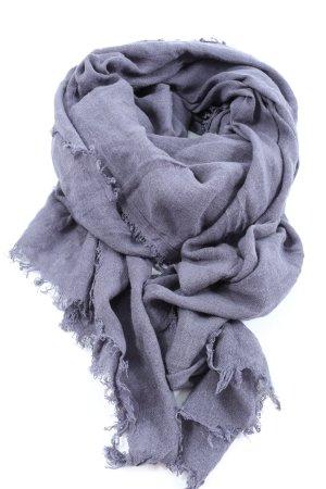MNG Chal veraniego lila Patrón de tejido look casual