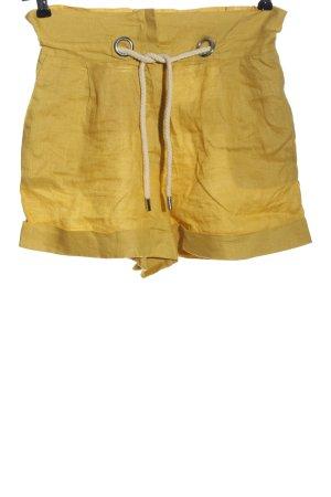 MNG Pantaloncino sport giallo pallido stile casual