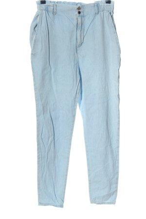 MNG Stoffhose blau Casual-Look