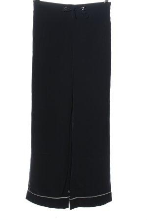 MNG Stoffhose schwarz-weiß Casual-Look
