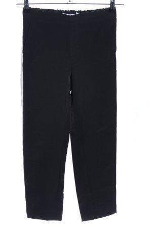 MNG Stoffhose schwarz-weiß Streifenmuster Casual-Look