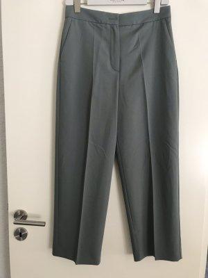 MNG Falda pantalón de pernera ancha gris verdoso-caqui Viscosa