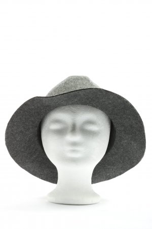 MNG Felt Hat light grey flecked casual look