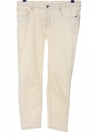 MNG Straight-Leg Jeans creme Casual-Look