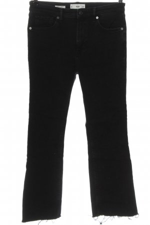 MNG Straight-Leg Jeans schwarz Casual-Look