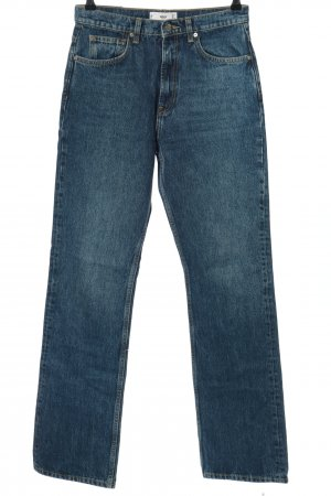 MNG Straight-Leg Jeans blau Casual-Look