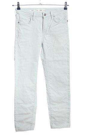 MNG Straight-Leg Jeans hellgrau Casual-Look