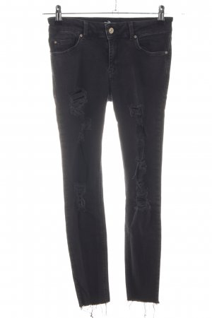MNG Stretch Jeans schwarz Casual-Look