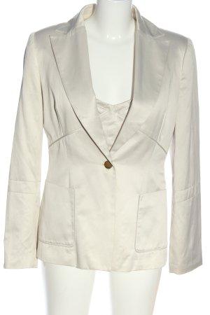 MNG Ensemble en tricot blanc style d'affaires