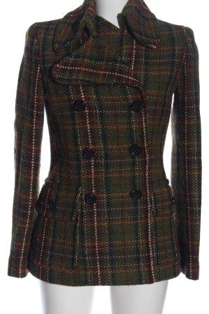MNG Manteau en tricot imprimé allover style décontracté