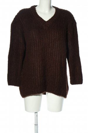 MNG Strickpullover braun Casual-Look