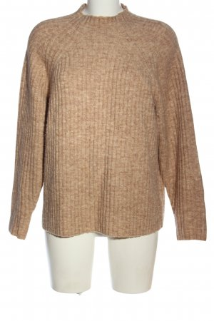 MNG Strickpullover nude meliert Casual-Look