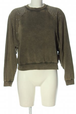 MNG Strickpullover khaki Casual-Look
