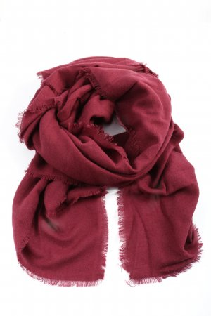MNG Knitted Scarf red casual look