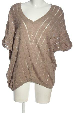 MNG Strickshirt braun Casual-Look