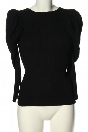 MNG Strickshirt schwarz Casual-Look