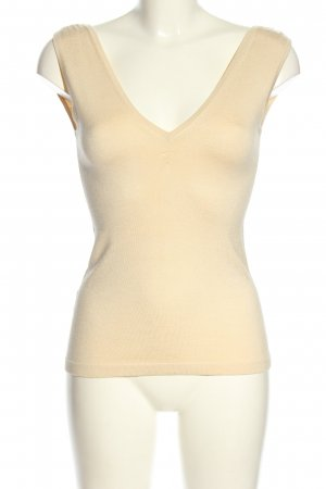 MNG Stricktop creme Casual-Look
