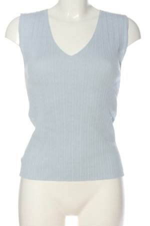 MNG Knitted Top blue casual look