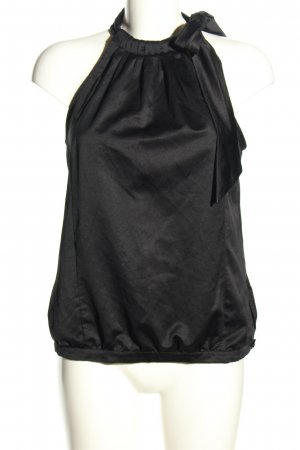 MNG SUIT ärmellose Bluse schwarz Casual-Look