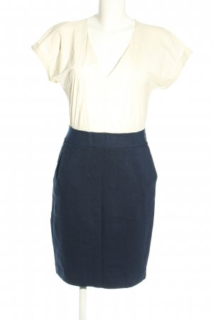 MNG SUIT Pencil Dress white-blue casual look