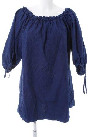 MNG SUIT Blusenkleid blau Casual-Look