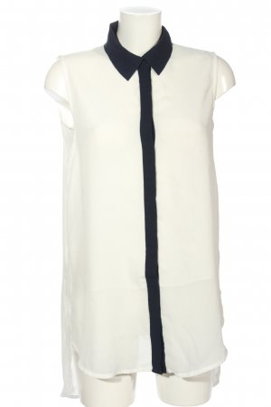 MNG SUIT Blusa bianco-nero stile casual