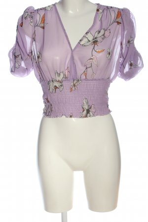 MNG SUIT Top corto stampa integrale stile casual
