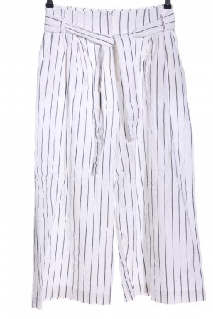 MNG SUIT Culottes white-black allover print casual look