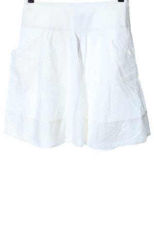 MNG SUIT Jupe évasée blanc style décontracté