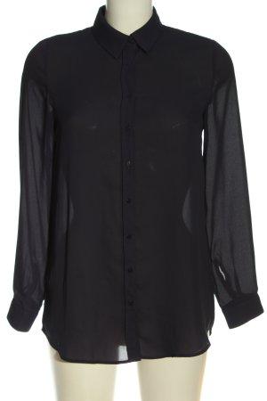 MNG SUIT Hemd-Bluse schwarz Business-Look
