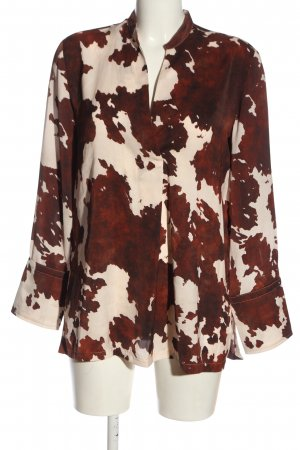 MNG SUIT Shirt Blouse red-natural white allover print casual look