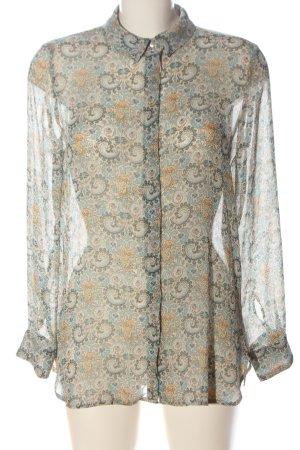 MNG SUIT Hemd-Bluse Allover-Druck klassischer Stil
