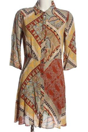 MNG SUIT Robe chemise motif abstrait style décontracté