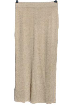 MNG SUIT Spódnica z wysokim stanem w kolorze białej wełny W stylu casual
