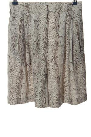 MNG SUIT Pantalón corto de talle alto gris claro-marrón look casual