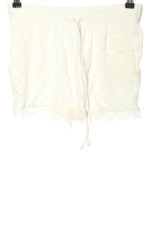 MNG SUIT Pantalón corto blanco puro look casual