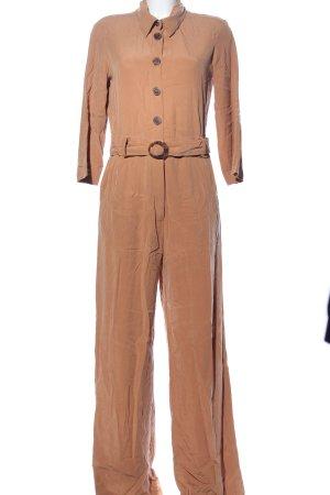 MNG SUIT Mono marrón estilo «business»