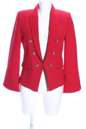 MNG SUIT Blazer corto rosso stile professionale