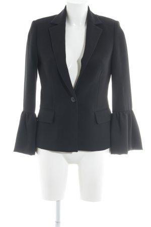 MNG SUIT Kurz-Blazer schwarz klassischer Stil